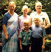The Graham Staines family