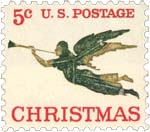 1965 Angel Stamp