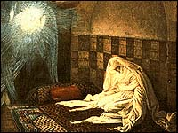 Annunciation by James J. Tissot