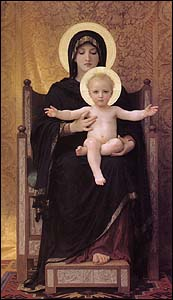 William Bouguereau, Virgin and Chld (1888)