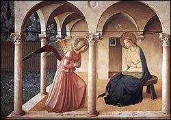 Fra Angelico, The Annunciation (c. 1437)