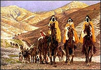 The Journey of the Magi (1894) by James Jaques Joseph Tissot