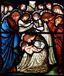 Edward Burne-Jones, Nativity (1875), St. Martins in the Bull Ring, Birmingham