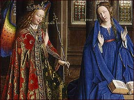 Jan van Eyck, The Annunciation (c. 1434/1436)