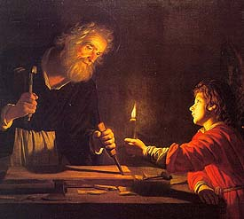 Gerard van Honthorst, The Childhood of Christ (1620)