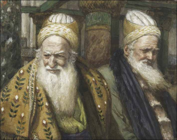 Tissot, Annas and Caiaphas