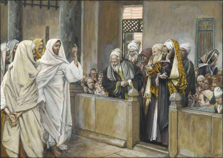 Tissot, Chief Priests: By what authority...?