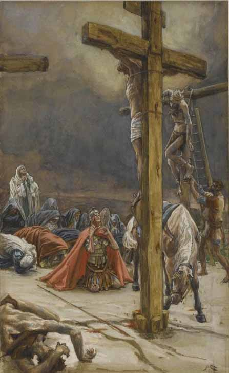 Tissot, The Confession of Saint Longinus