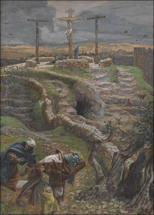 Tissot, Jesus Alone on the Cross
