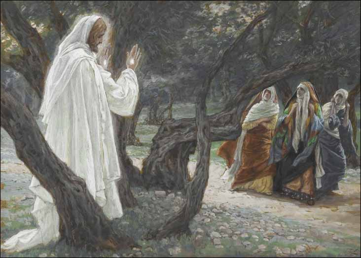 Tissot, Jesus Appears to the Holy Women