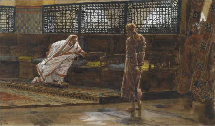 Tissot, Jesus Appears before Pilate for the First Interview