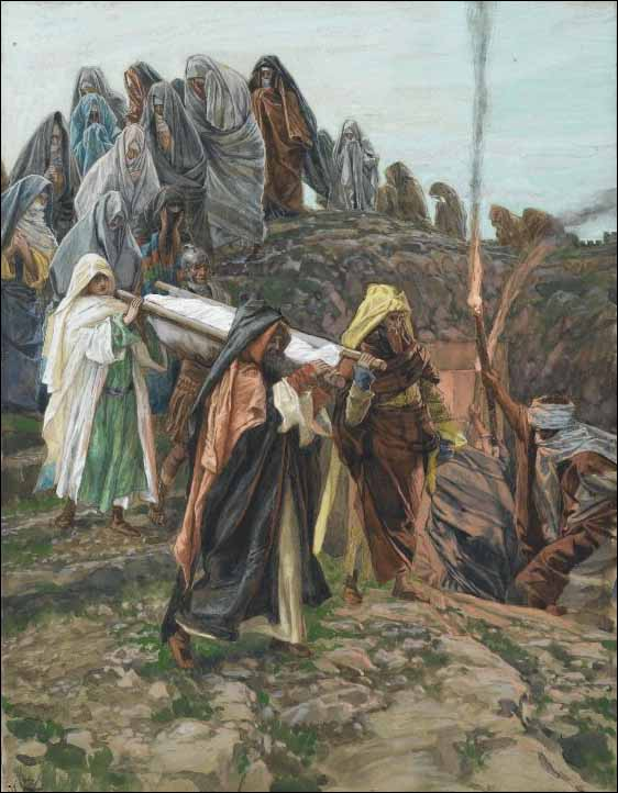 Tissot, Jesus Is Carried to the Tomb