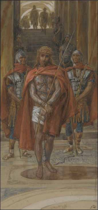Tissot, Jesus Leaves the Praetorium