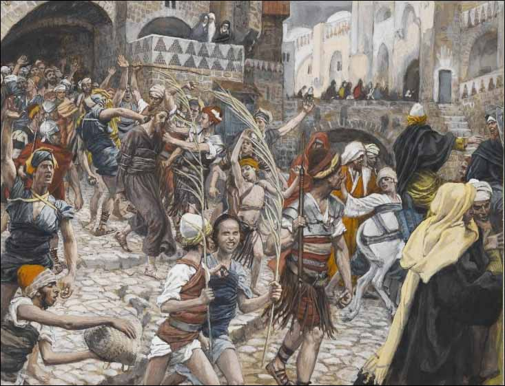 Tissot, Jesus Is Led from Caiaphas to Pilate