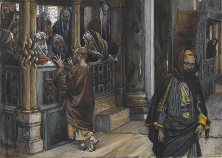 Tissot, Judas Goes to the Chief Priests