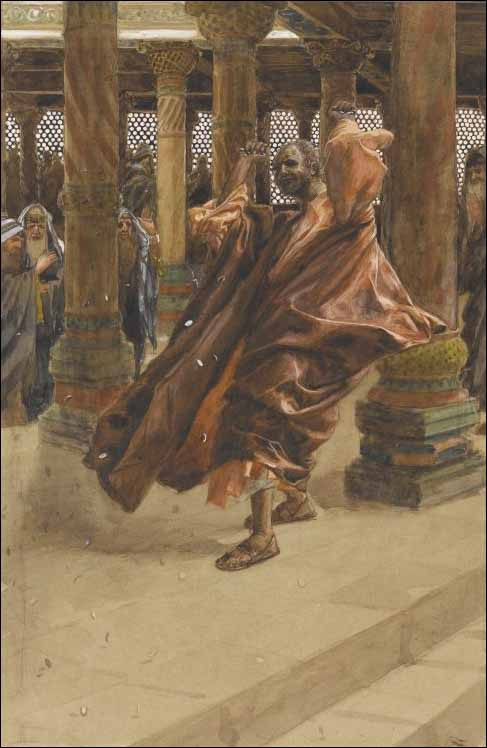 Tissot, Judas Returns the Blood Money