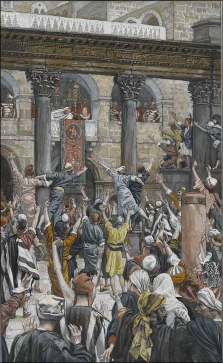 Tissot, Let Him Be Crucified!