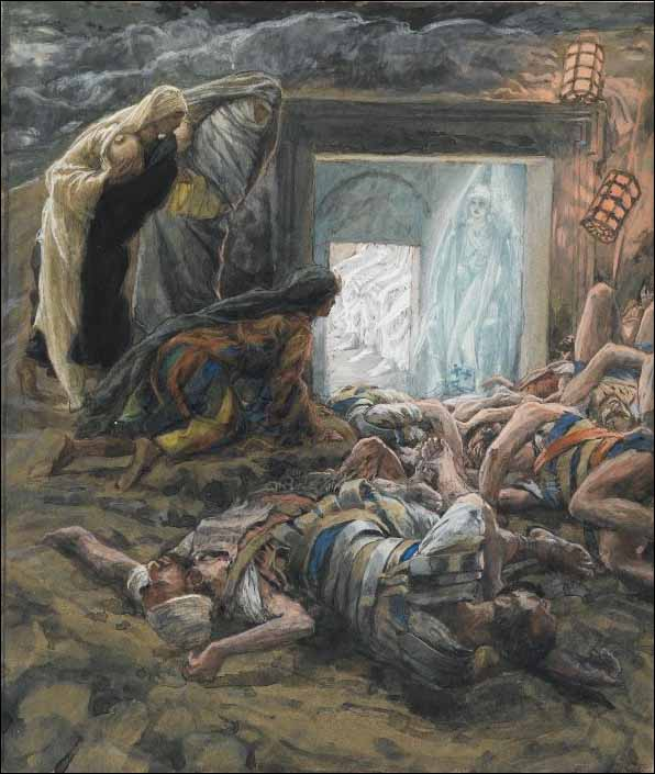 Tissot, Mary Magdalene and the Holy Women at the Tomb