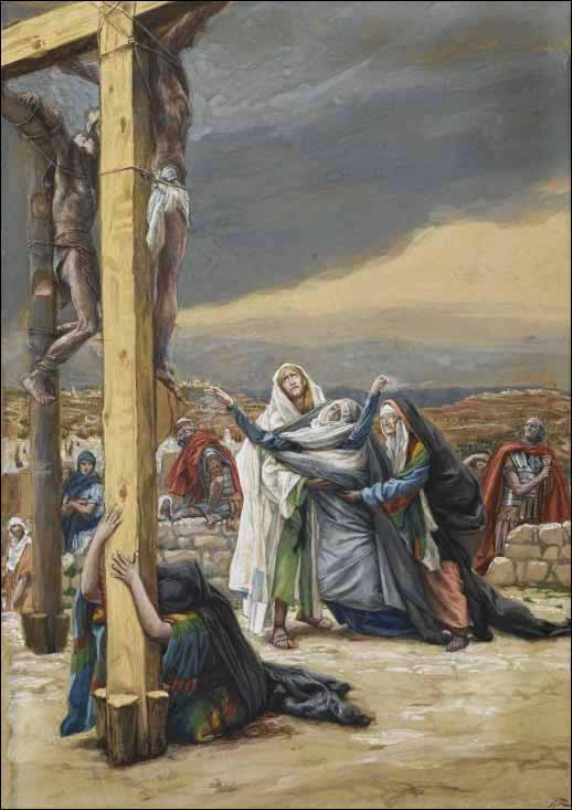 Tissot, The Sorrowful Mother (Mater Dolorosa)