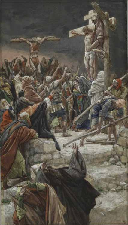 Tissot, Pardon of the Good Thief