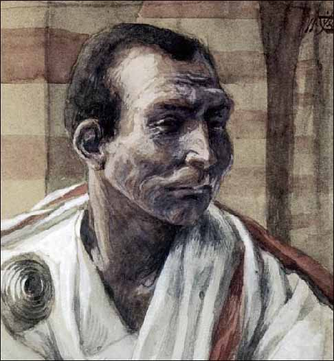 Tissot, Portrait of Pontius Pilate