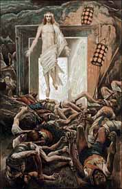 James J. Tissot, 'Resurrection' (1896), Brooklyn Museum, watercolor.
