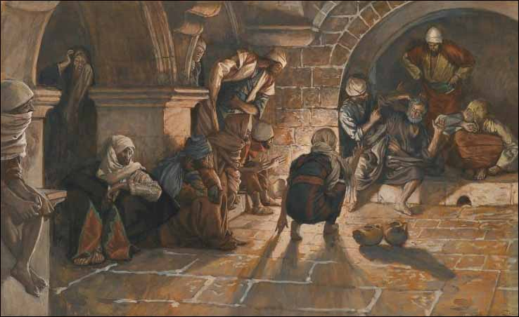 Tissot, Peter's Second Denial of Jesus