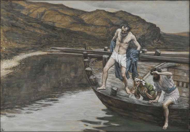 Tissot, Peter Jumps into the Water
