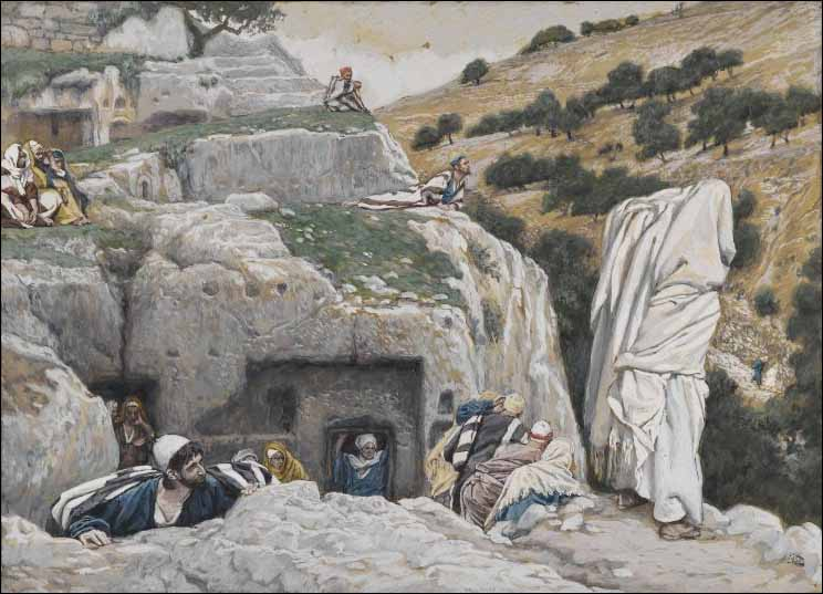 Having Deserted Jesus, the Disciples Hide in the Valley of Hinnom. The apostles' hiding place.