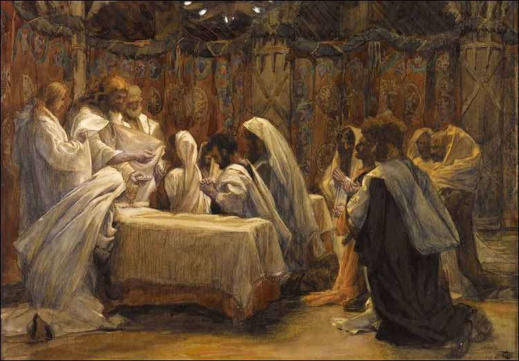 Tissot, The Communion of the Apostles