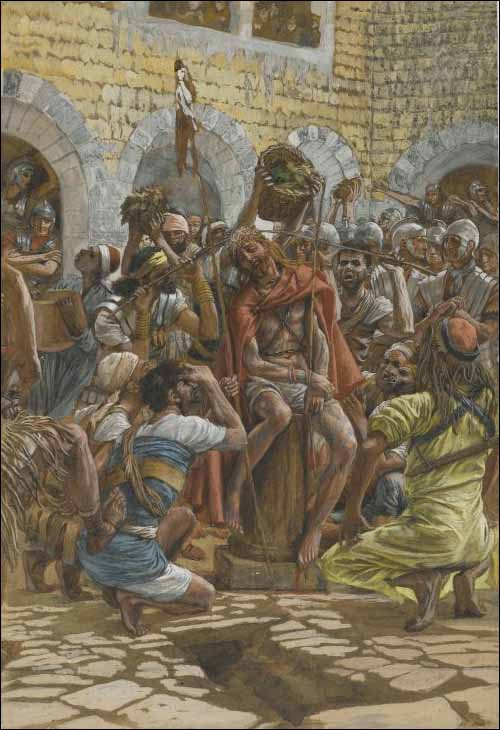 Tissot, Jesus Is Crowned with Thorns
