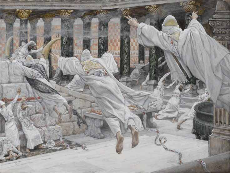 Tissot, The Dead Appear in the Temple