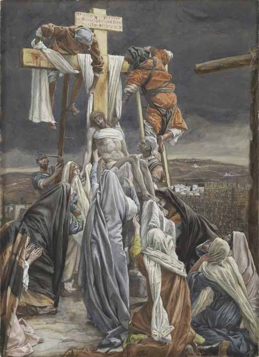 Tissot, The Descent from the Cross