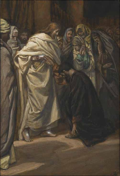 Tissot, The Disbelief or Doubting of St. Thomas