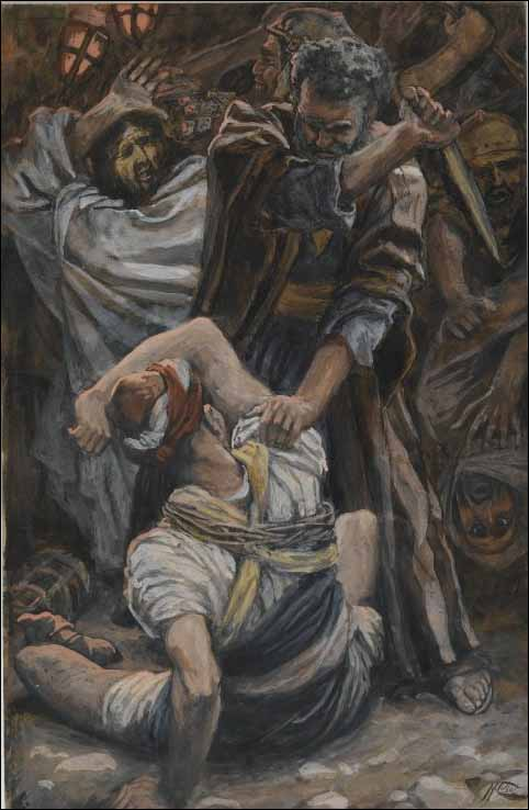 Tissot, Peter Cuts Off the Ear of Malchus