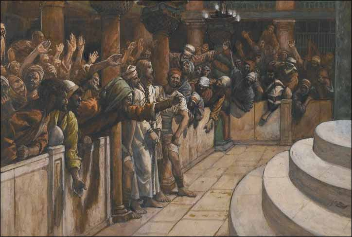 Tissot, The False Witnesses