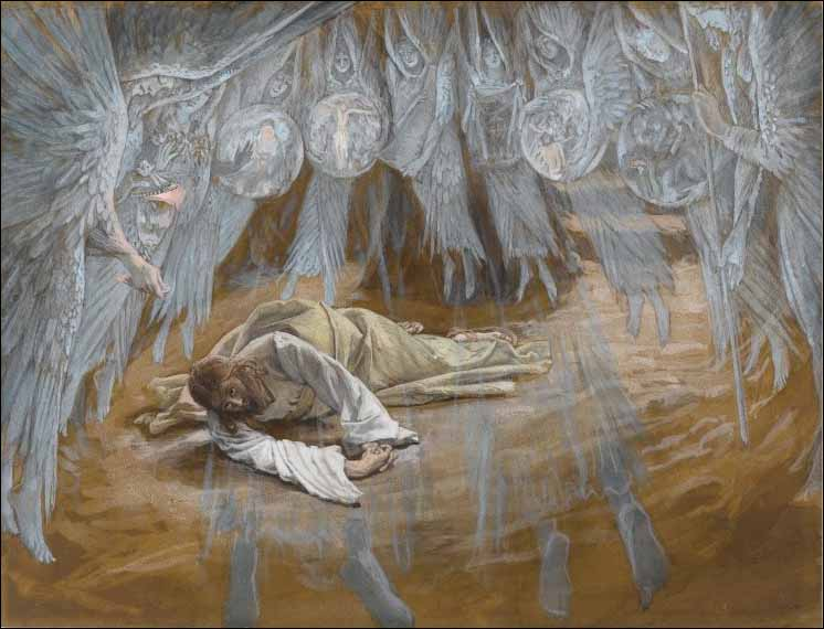 Tissot, Jesus in Agony in the Garden