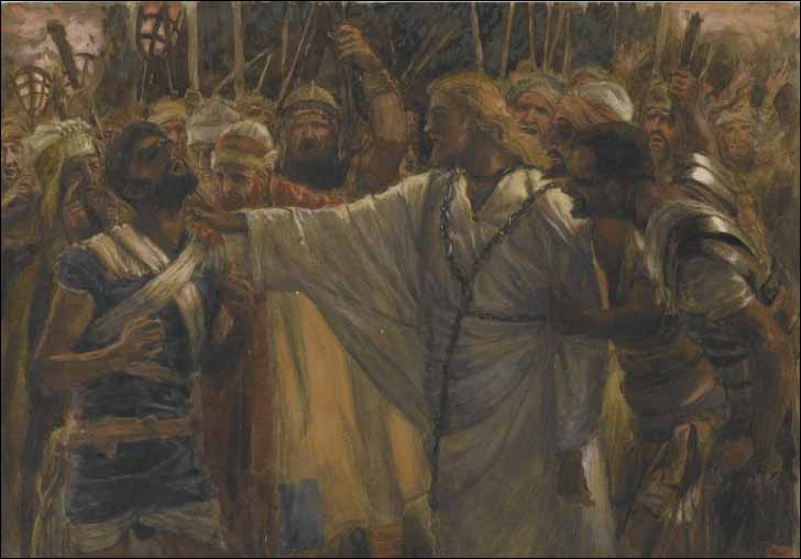 Jesus Heals Malchus, the High Priest's Servant