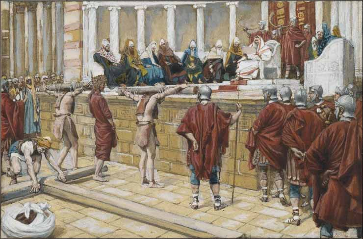 Tissot, The Judgment on the Gabbatha