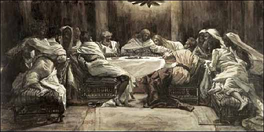 tissot the lords supper Eating and Drinking With God