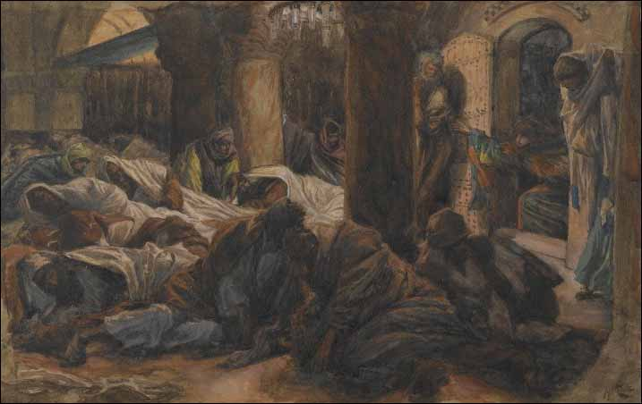 Tissot, Mary Magdalene Runs and Tells the Disciples
