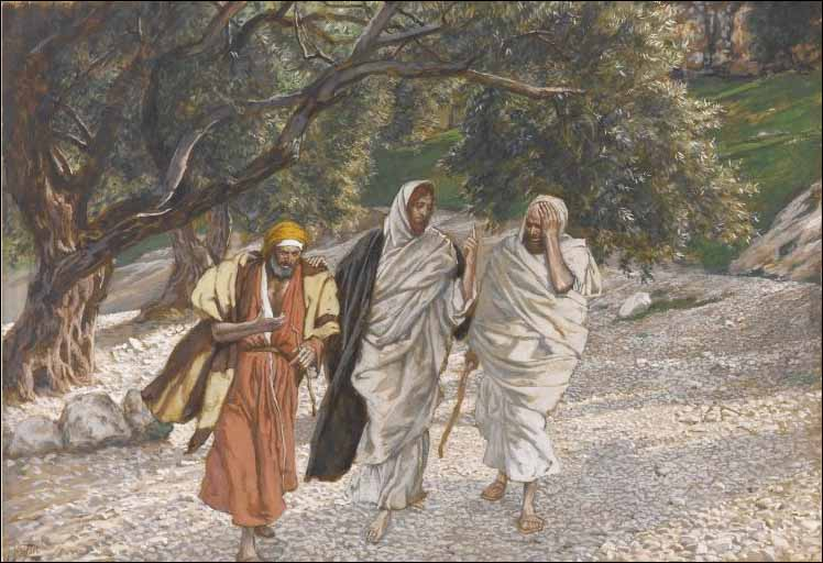 Tissot, Disciples on Their Way to Emmaus