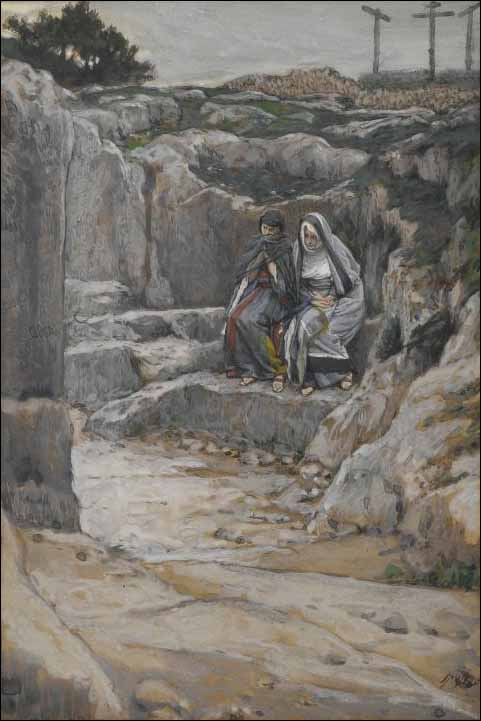Tissot, The Two Marys Watch the Tomb of Jesus