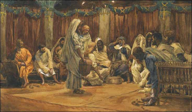 Tissot, The Washing of the Feet