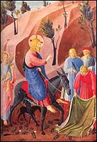 The Entry into Jerusalem, Fra Angelico (1387-1455)