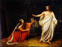 Appearance of Christ to Mary Magdalene, Ivanov (1835)