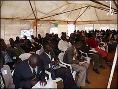 Attendees at the African Renewal Pastors Conference, Eldoret, Kenya, Oct 26-29, 2011