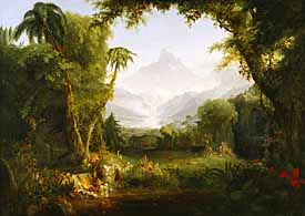 Thomas Cole, 'The Garden of Eden' (1828), Metropolitan Museum of Art, New York.