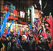 New Year's celebration in Times Square