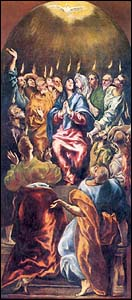 El Greco, Pentecost